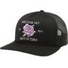 Fox Rosey Trucker Cap Women black